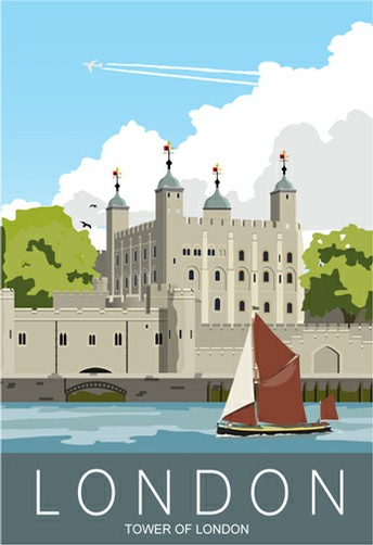 Tower of London on the Thames
