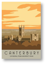 Canterbury Cathedral Uni Portrait