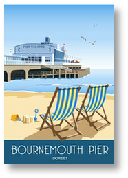 Bournemouth Pier Deck Chairs
