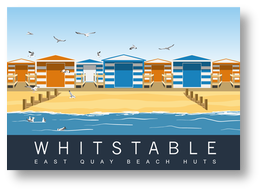 East quay Huts Whitstable