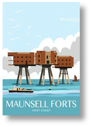 Maunsell Sea Forts portrait