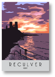 Sunset Reculver