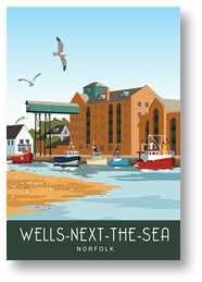 Wells next the Sea Quay side