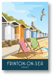 Frinton-on-Sea Beach Huts Portrait